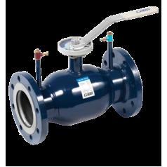Кран шаровой Ситал стальной регулирующий фланцевый серии Т5-22-1(2)