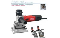 Применение фаскореза (кромкореза, фаскоснимателя) при прокладке трубопровода