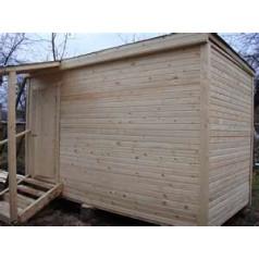 Особенности строительства каркасно-щитовой бани