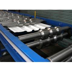 Простота и скорость обслуживания – вот преимущества оборудования для производства металлочерепицы