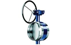 KMC. Тип BF. Запорный дисковый затвор Ду200 - 1200 сварка/сварка