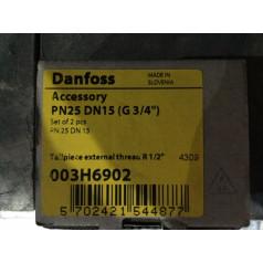 """Комплект присоединительных фитингов Danfoss R 1/2"""" (003H6902)"""