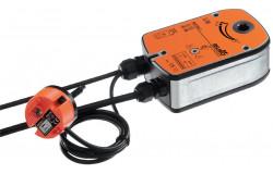 Электропривод Belimo для управления противопожарными нормально открытыми клапанами