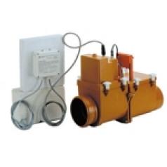 HL710.2EPC. Канализационный затвор с электроприводом. Установка обратного клапана для канализации.