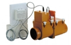 Канализационный затвор с электроприводом. HL710.2EPC DN110