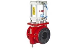 Larox. Пережимные клапаны Flowrox PVE A6