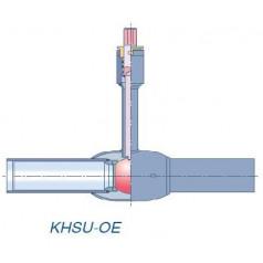 Кран шаровой Klinger Monoball DN 65 PN25 для ППУ изоляции тип KHSU