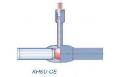 Кран шаровой Klinger Monoball DN 300 PN25 сварной для ППУ изоляции тип KHSU