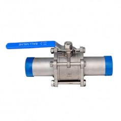 Шаровой клапан DN20 PN64. Краны. Из нержавеющей стали AISI 316