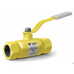 LD. Кран шаровый ЛД стальной резьбовой для газа
