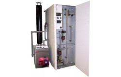 Система отопления на солнечной энергии и жидком топливе / газе