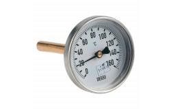 Термометр биметаллический а5000 120c дк63 l=40 Wika