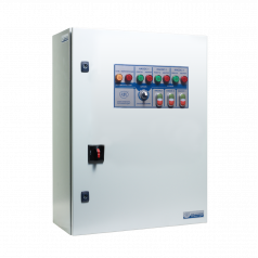 Шкафы управления 3 дренажными насосами без УПП и ПЧ - EA08E344480