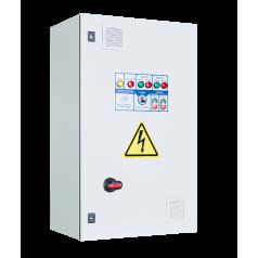 Шкафы управления 2 насосами/вентиляторами с 1 ПЧ (переменный мастер), пуск доп. электродвигателя от УПП - EA05E76374