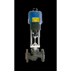 Клапаны Гранрег КМ125Ф с электроприводом - FN03C402142