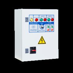 Шкафы управления 2 дренажными насосами, пуск электродвигателей от УПП - EA08B387228