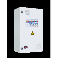 Шкафы управления 3 насосами/вентиляторами с 1 ПЧ (переменный мастер), пуск доп. электродвигателя напрямую - EA05H33475