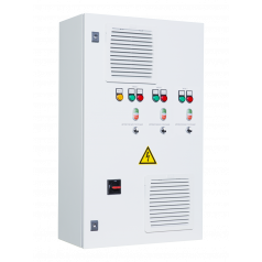 Шкафы управления 3 насосами/вентиляторами с ПЧ на каждый электродвигатель - EA11C232221